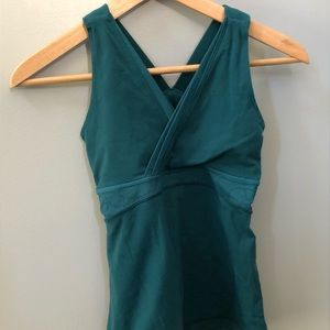 Lululemon Green Emerald Tank too size 4